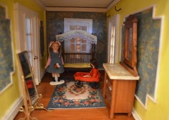 "Inside the ""Plantation House."""