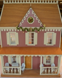 """Victorian Dollhouse."" Submitted by Beth Waters Hunsinger & son Jackson Waters Hunley."