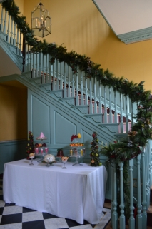 The completed decorations in the Passage.