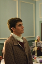 George Lewis (Will Goldstein) expresses his desire to enlist in the Continental Army.