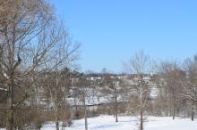 Fredericksburg across the Rappahannock.