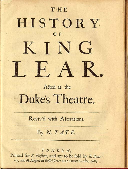 shakespeare s king lear exalted version of The cliffscomplete king lear is a revised and expanded study edition it contains shakespeare's original play, a glossary, and expert commentary in a unique, 2-column format it contains shakespeare's original play, a glossary, and expert commentary in a unique, 2-column format.