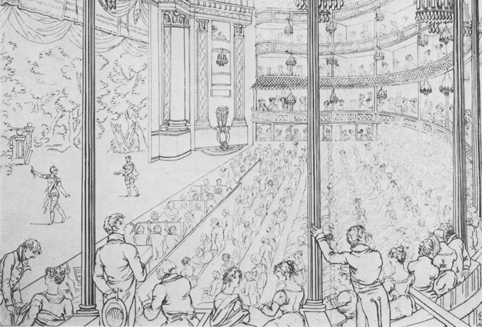 Royal Theatre, Drury Lane 1813