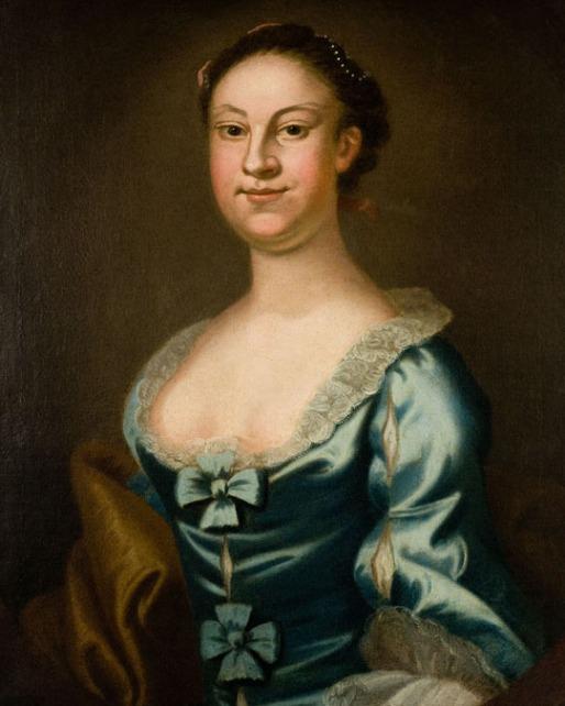 Portrait of Betty Washington Lewis by John Wollaston, c. 1755. Credit: Mount Vernon Ladies Association