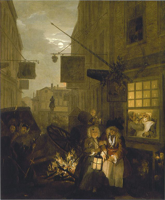 Hogarth's Night