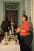 Curator Meghan Budinger talks about how lighting technology was used 200 years ago.