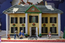 """Martha & George in Love"" by Courtland High School German Club depicts the Longfellow House."