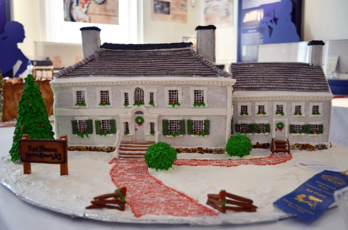 """Washington's Revolutionary War Headquarters"" by Carrie Gonzalez and Shelley Brosius depicts the Ford Mansion in Morristown, NJ"