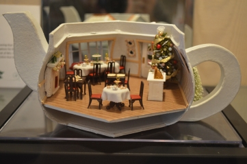 """""""Teapot Tea Room (at the North Pole)"""" submitted by Joanna Borgman even includes tiny bags of """"Kenmore-blend"""" tea."""