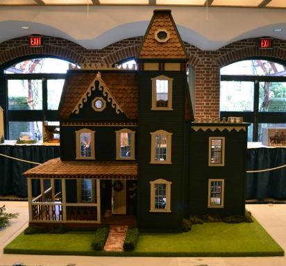 """""""The Apple Blossom"""" submitted by David Budinger is the childhood dollhouse of Kenmore's Curator Meghan Budinger."""