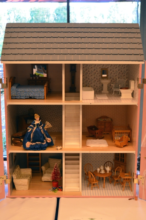 """""""Antique Dollhouse"""" submitted by Susan Larson"""