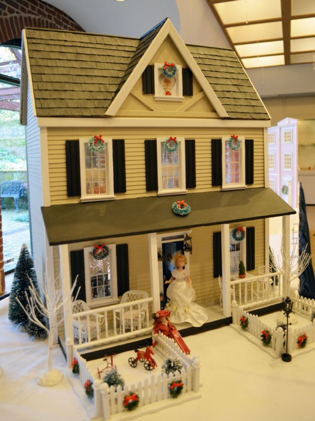 """""""Harris Farm"""" submitted 6-year-old collector Emily Jane Harding, who received the house from her grandmother."""