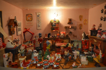 """""""Santa's Workshop"""" submitted by Peggy Severson"""
