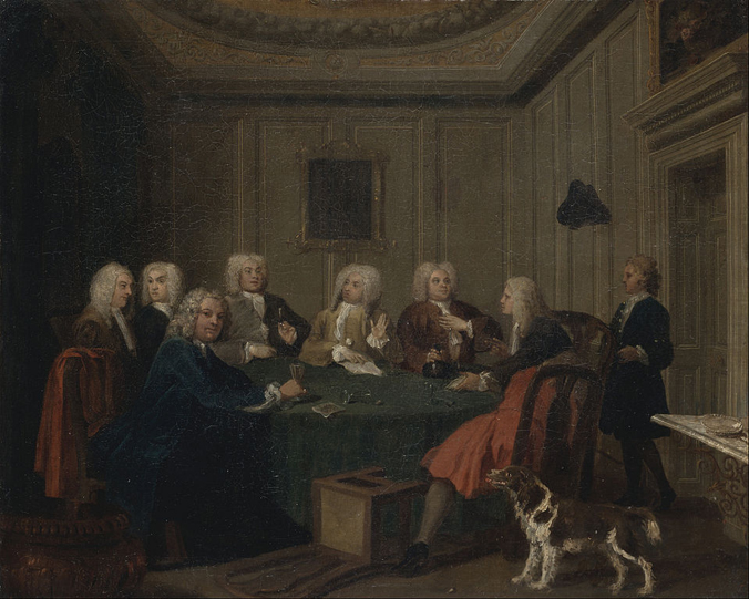 Joseph Highmore's A Club of Gentlemen