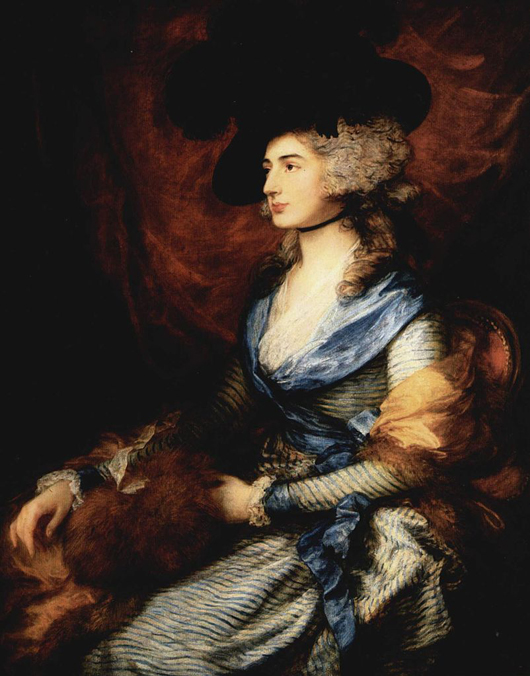 Portrait of Mrs. Sarah Siddons (1755-1831)