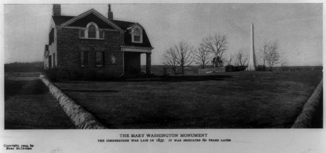 1903MaryWashingtonMonument copy