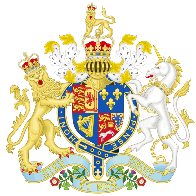 British Royal Coat of Arms