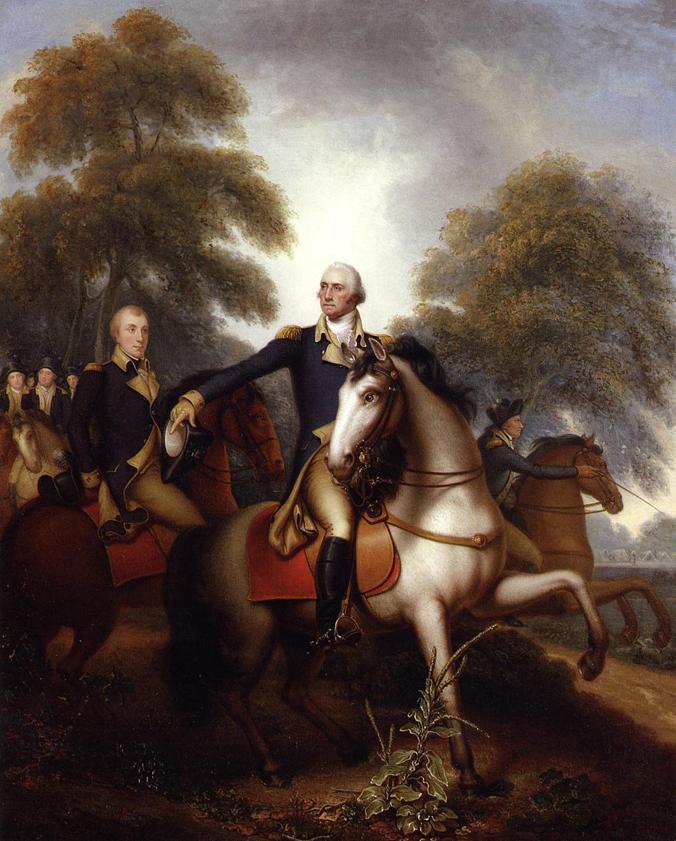 """Washington Before Yorktown"" by Rembrandt Peale (1823) Public domain. Courtesy: The Athenaeum/Wikipedia"