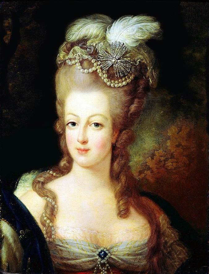 Portrait of Marie Antoinette (c. 1775) probably by Jean-Baptiste Gautier Dagoty. Public domain. Credit: Musée Antoine-Lécuyer/Wikipedia