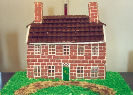 Some entries, including this gingerbread version of Kenmore, from 2001.