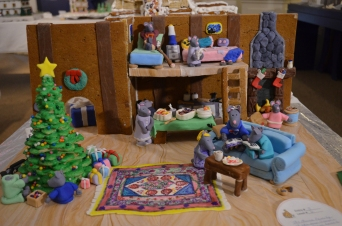 """""""The Mouse Family at the New George's Ferry Farm House"""" by Carrie Szlyk and family"""