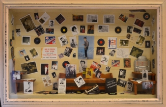 """My Teenage Bedroom Wall of the 1960s"" - Peggy Severson"