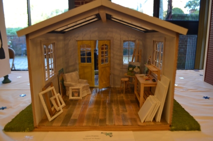 """Backyard Art Studio"" - Joanna Borgman"