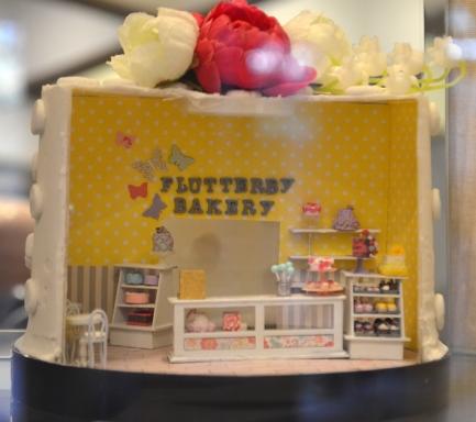 """Flutterby Bakery"" - Joanna Borgman"