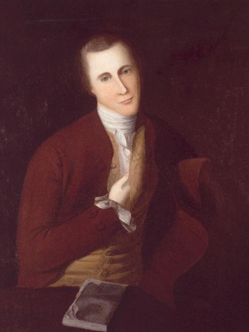 Fielding Lewis Jr (c. 1775) by Charles Willson Peale