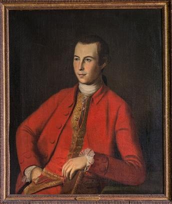 John Lewis (c. 1775) by Charles Willson Peale