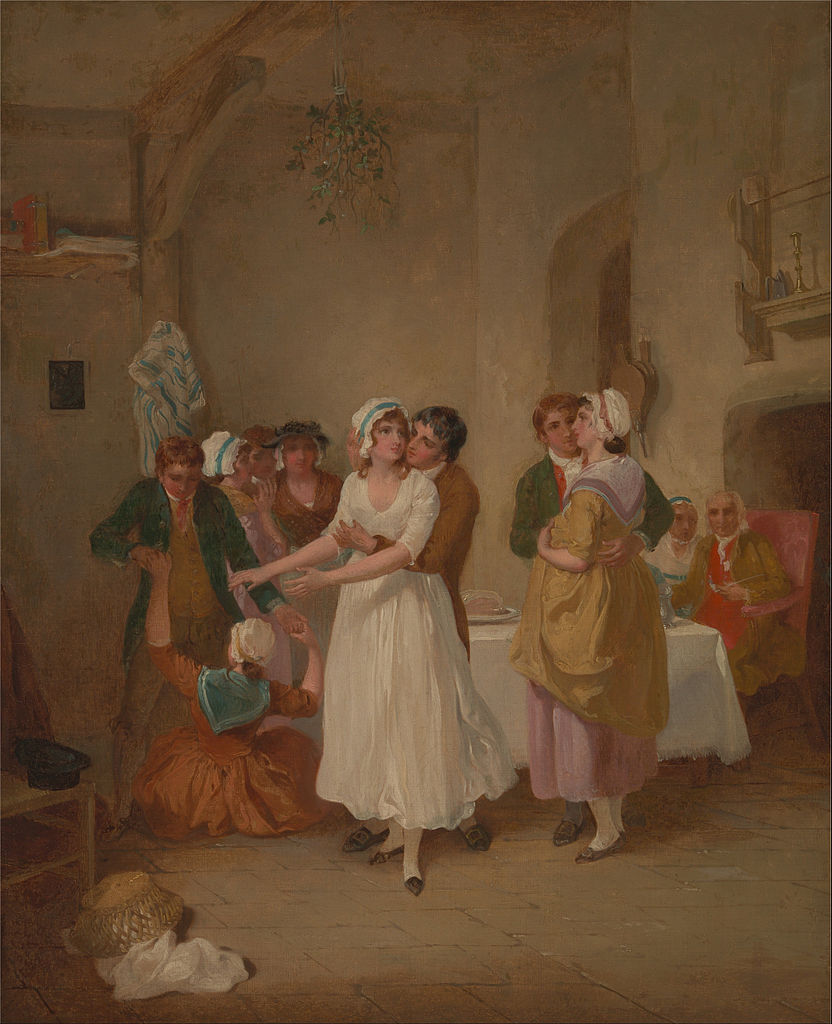 the-mistletoe-bough-by-francis-wheatley