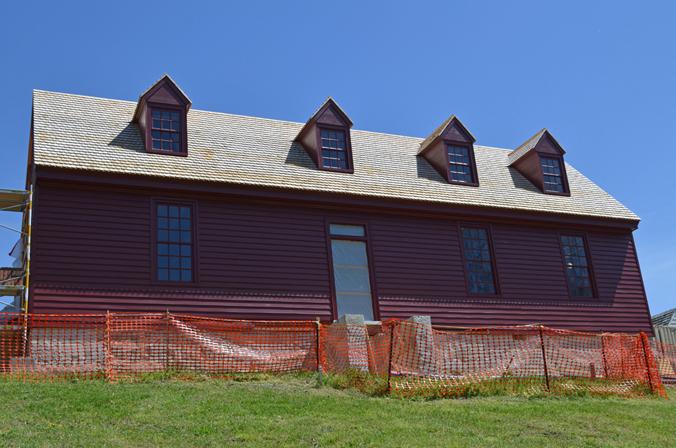 Washington House without Scaffolding