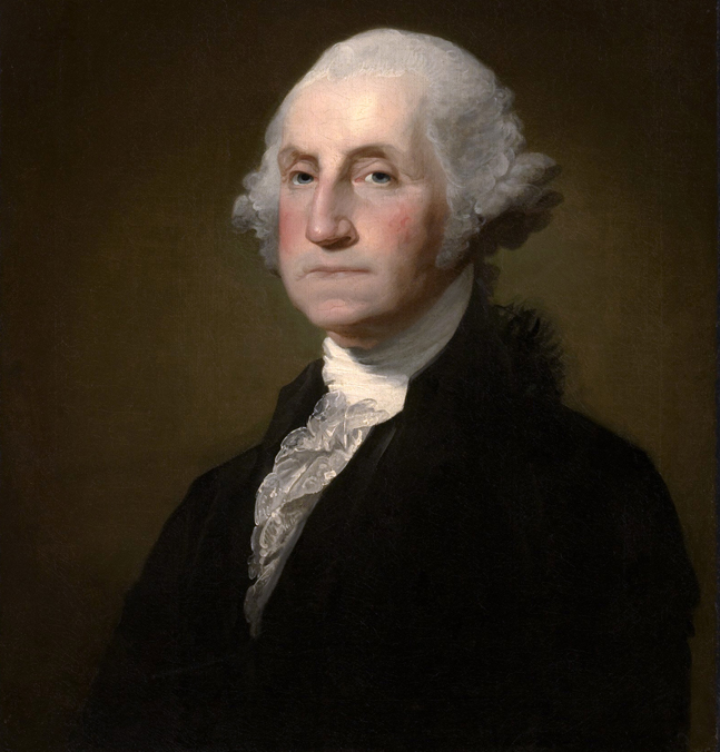 George Washington by Gilbert Stuart (1798)