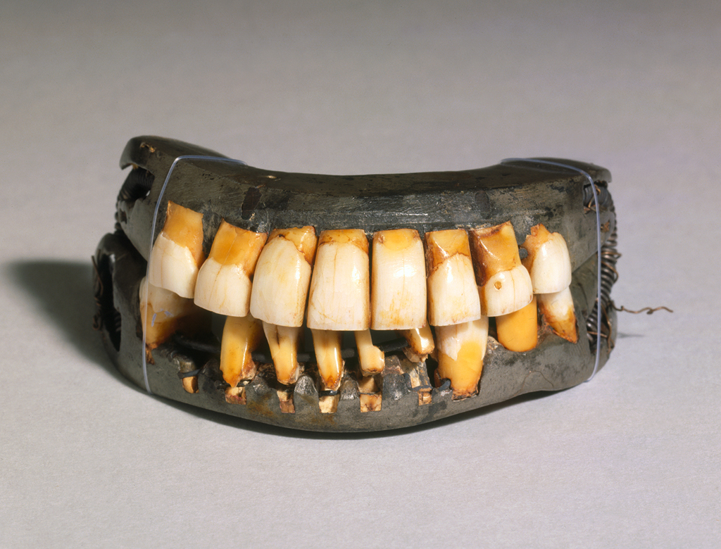George Washington - Full Dentures, Complete Set