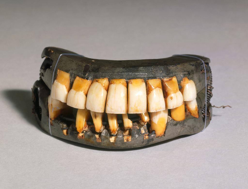 George Washington - Full Dentures, Complete Set