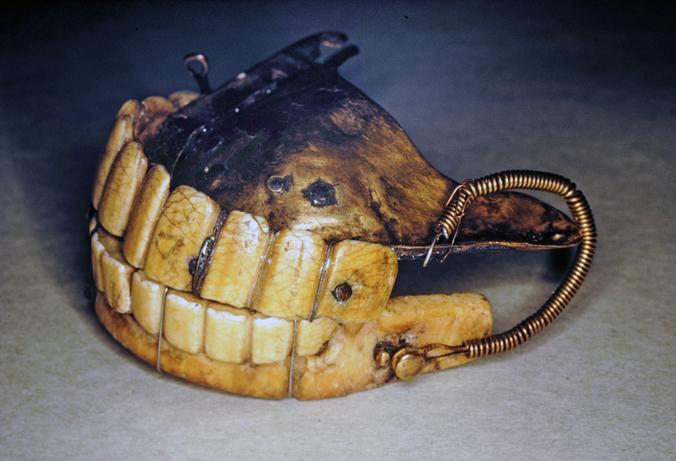 George Washington - Full Dentures, Now Incomplete Set