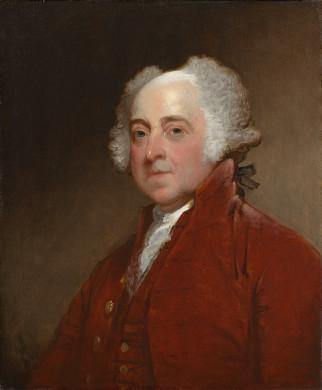 John Adams by Gilbert Stuart (1821)