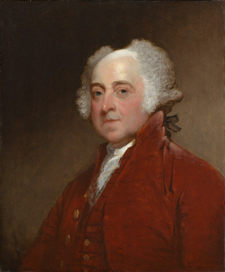 John Adams by Gilbert Stuart (1821)