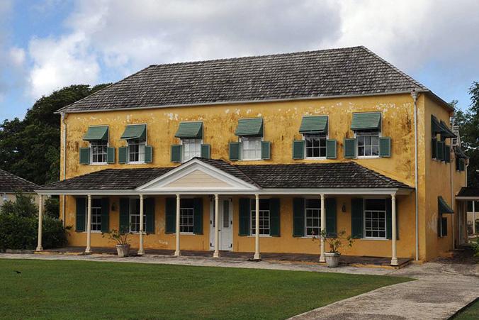 Washington House, Barbados