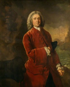 NPG 881; Edward Vernon by Thomas Gainsborough