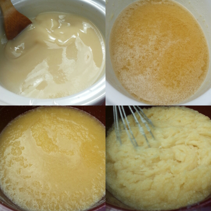 Four Stages of Soap Making