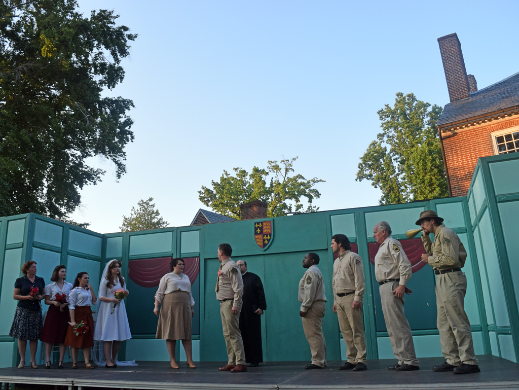 Photos Much Ado About Nothing At Kenmore S Shakespeare