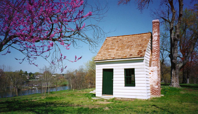 Surveyor's Shed in Spring