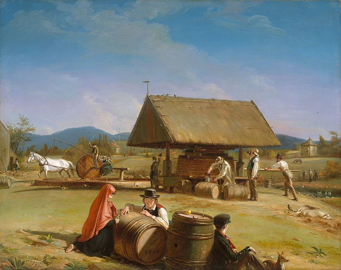 Cider Making (c.1840) by William Sydney Mount