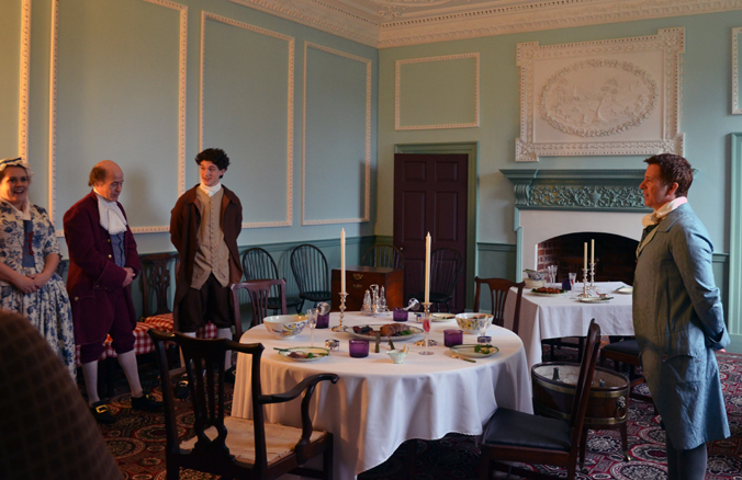 Kenmore Dining Room on 12th Night