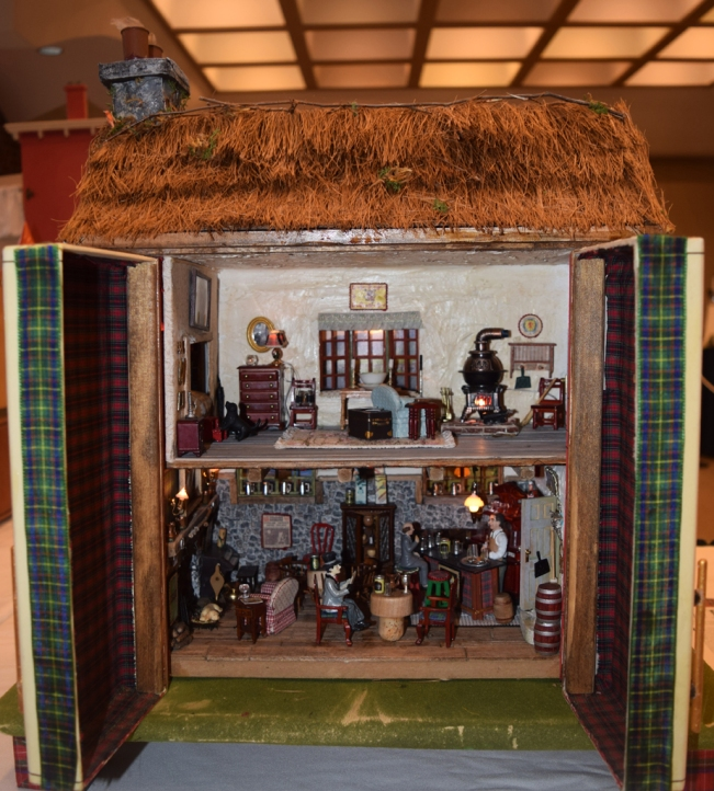 A pub in Kenmore's dollhouse exhibit.