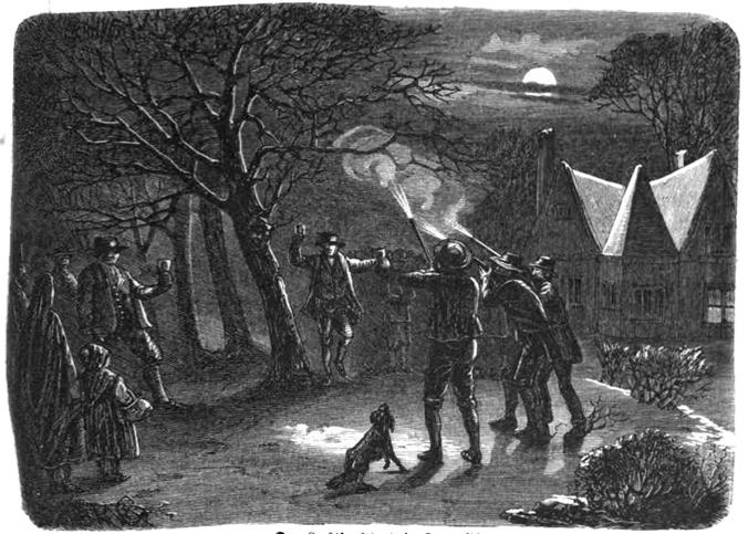 Twelfth Night in Devonshire (1863)