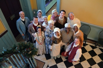 "The ""Twelfth Night at Kenmore"" cast."
