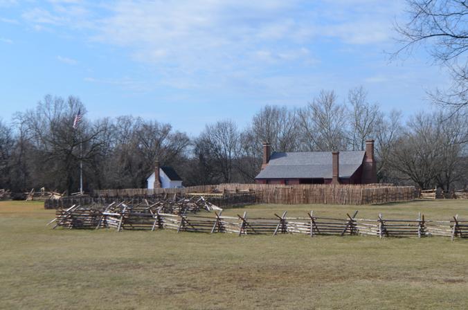 Washington House and Work Yards