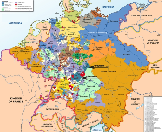 Holy Roman Empire, 1789